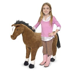 Horse - Lifelike Animal Giant Plush