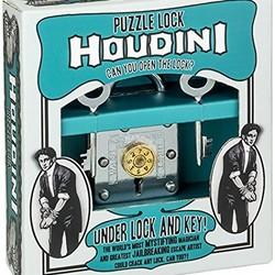 Houdini Under Lock & Key