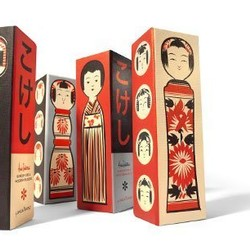 Kokeshi Doll Wooden Blocks