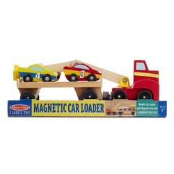 Wooden Magnetic Car Loader