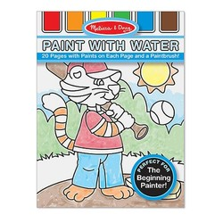 Paint With Water Book - Sports, Playtime, Circus & More