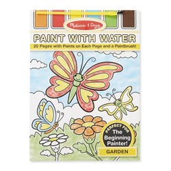 Paint With Water Book - Garden