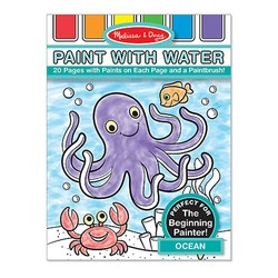 Paint With Water Book - Ocean