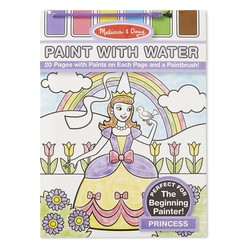 Paint With Water Book - Princess