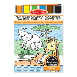 Paint With Water Book - Safari