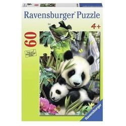 Panda Family - 60 Piece Puzzle