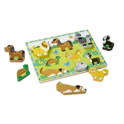 Chunky Puzzle - Pets - 8 Pieces