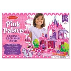 3D Puzzle - Pink Palace