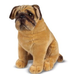Pug - Lifelike Animal Giant Plush