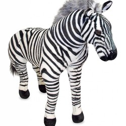Zebra - Lifelike Animal Giant Plush