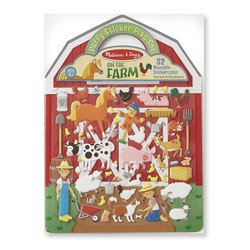 Reusable Puffy Sticker Play Sets - On the Farm