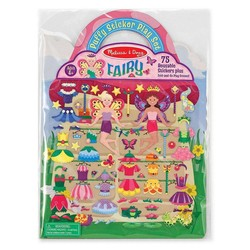 Reusable Puffy Sticker Play Sets - Fairy