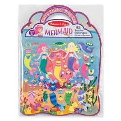 Reusable Puffy Sticker Play Sets - Mermaid