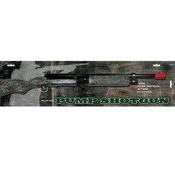 "Wooden Rifles Pump Shotgun Camo 30.25"" Long Carded"