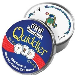 Quiddler Mini Rounds Card Game