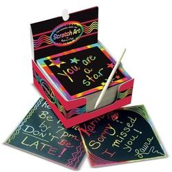 Rainbow Mini Scratch Art Box
