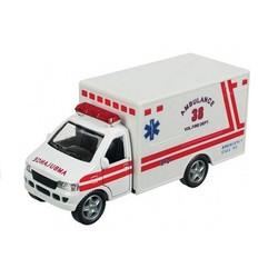 "5"" Diecast Rescue Team Ambulance & EMS"