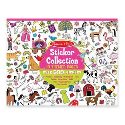 Sticker Pad - Sticker Collection Princesses, Tea Party, Animals & More