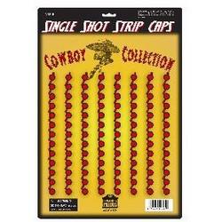 Plastic Strip Caps - 208 Single Ammo Shots 13 Shot Clips