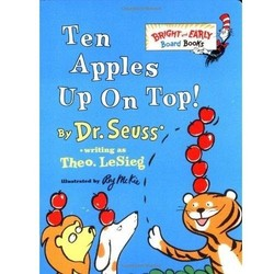 Ten Apples Up on Top - Bright & Early Board Book