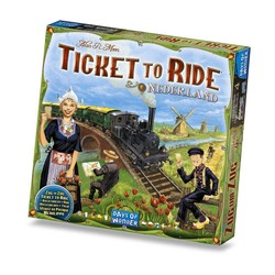 Ticket to Ride - Nederland Map Collection 4