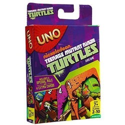UNO Teenage Mutant Ninja Turtles Card Game