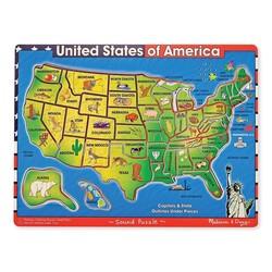 Sound Puzzle - USA Map