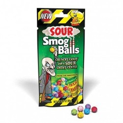 Toxic Waste Sour Smog Balls 3 oz. Bag