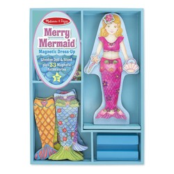 Merry Mermaid Magnetic Dress Up Set
