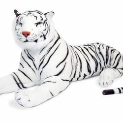 White Tiger - Lifelike Animal Giant Plush