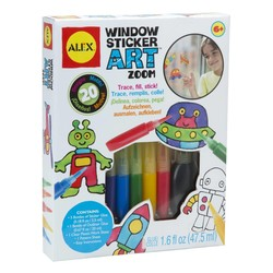 Window Sticker Art Zoom