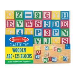 Wooden ABC & 123 Blocks