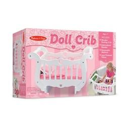 Wooden Doll Crib