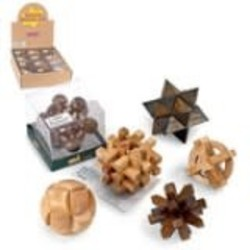 Wooden Puzzle Assortment