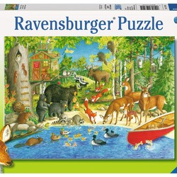 Woodland Friends - 200 Piece Puzzle