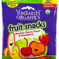 YumEarth Organics Fruit Snacks Personal Size 2 oz. Bag