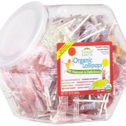 YumEarth Organics Pops Large Bin - 125 Lollipops