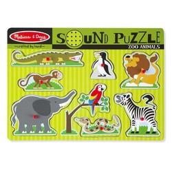 Sound Puzzle - Zoo Animals