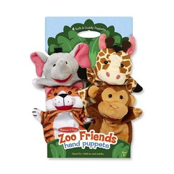 Hand Puppets Zoo Friends