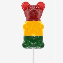Giant Three-Tone Gummy Bear