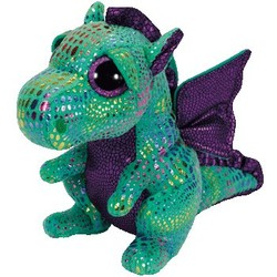 """Beanie Boos - Cinder Dragon Green - Medium 13"""""""