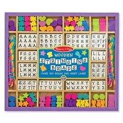 Wooden Bead Set Alphabet Beads