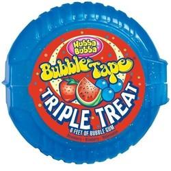 Hubba Bubba Bubble Tape - Blue Triple Treat Gum