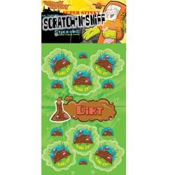 Scratch N Sniff Stickers Dirt