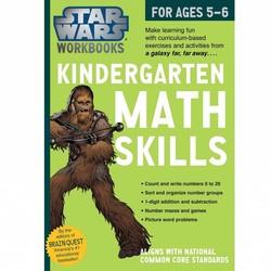 Star Wars Workbook: Kindergarten Math Skills