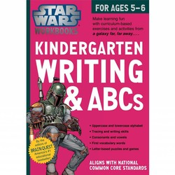 Star Wars Workbook: Kindergarten Writing & ABCs