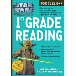 Star Wars Workbook: Grade 1 Reading