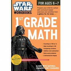 Star Wars Workbook: Grade 1 Math