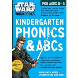 Star Wars Workbook: Kindergarten Phonics and ABCs