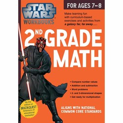 Star Wars Workbook: Grade 2 Math
